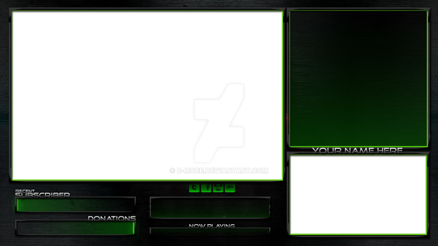 Project Overlay - Green by B-mobe