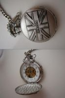 pocket watch stock by thiselectricheart