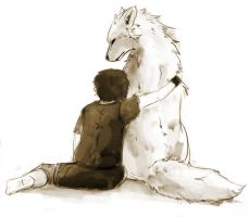 Bran and Summer by Dygee
