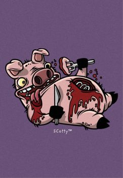 Cannibalistic Piggy by cronobreaker