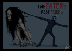 Eyeless Jack's Annoying Pet by SUCHanARTIST13