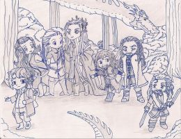 The Hobbit by punkinhead1215