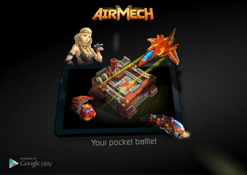 AirMech - Your pocket battle! Version 2 by DBirdy