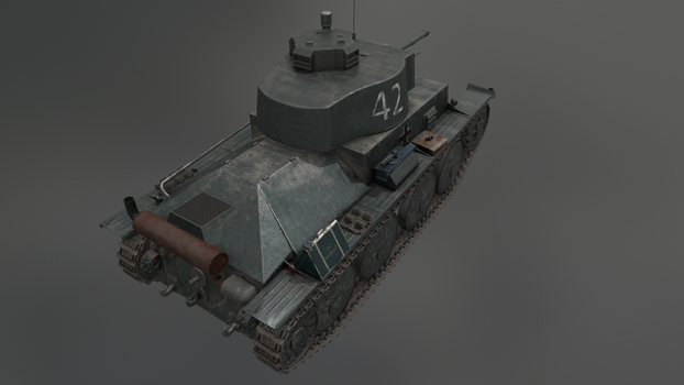 PzKpfw 38(t) 5 by LordTruewulf