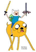 Go Adventure Time by Mortdres