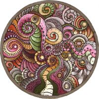 Mandala 25 Oct 2011 by Artwyrd