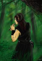 The Bard of the Forest by Ionus