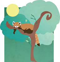 Be awesome Red Panda by WishinStars