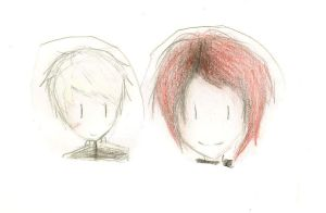Black Parade and Party Poison by OrangeWithATopHat