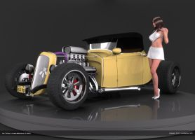 Hot Rod First Release by kkllss