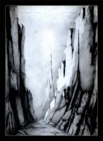 Canyon-sketch by Immortelle