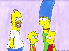 The Simpsons Family by DJgames