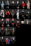 My Living Dead Doll Collection by MidnightMadness15