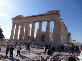 Eternal Parthenon - Untouched by woodsman2b