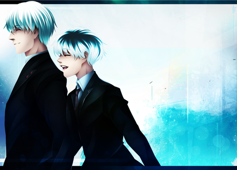 Tokyo Ghoul RE 85 - Oh, I was so Happy by KuroNick-Arts