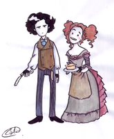 Sweeney Todd by DemonCartoonist