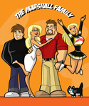 The Marshall Family by johnnyharadrim