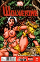 Naughty Savage Rogue sketch cover by gb2k
