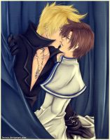 Frau x Teito: Forbidden love by Iwonn