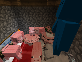 pig circles by GroudonMcL
