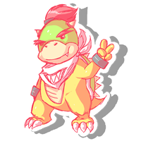Comm: Bowser Jr. by Typhlo