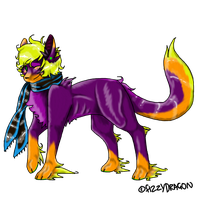 Contest Entry - FizzyDragon by InfernalEvanesce