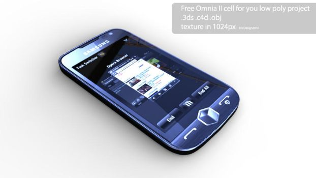 OmniaII free 3D cell by 3DEricDesign