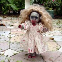 Dead Mary doll zombie 3 by Undead-art-stock
