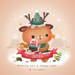 Happy New Year 2015 by Cappippuni