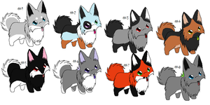 Free Adoptables batch 65 (Closed) by Kitty-of-Doom524