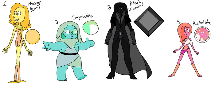 Mystery Gems for crazy-peach-adopt by qaunti-adopts
