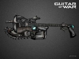 Guitar of War by art-anti-de