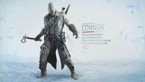 Connor Kenway by Lopez-The-Heavy