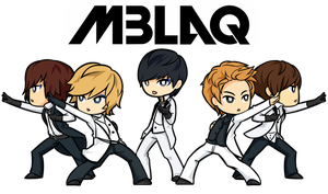 Commission: MBLAQ by AzureStarr
