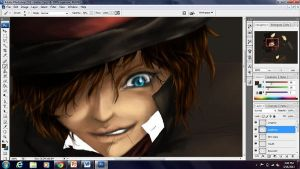 ONCE: Mad Hatter WIP by shinkeiryu