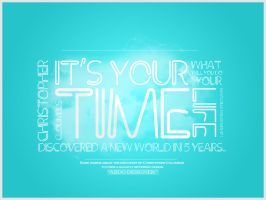 IT'S YOR TIME by ABDODesigner