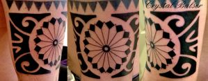 Polynesian  Style Tattoo Band by IAteAllMyPaste
