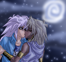 Kiss in the Moonlight by Minami-no-Aoki