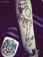 Slytherin Dark Mark by SheielNixiet
