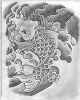 Koi Fish Tattoo Design by Molly-ArcAngelTattoo