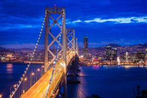 Bay Bridge by xelement