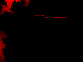 Don't let them (black and red (original)) by HistoryGhostAndBr