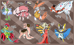 [OTA] Pokemon Hybrids by MystikMeep