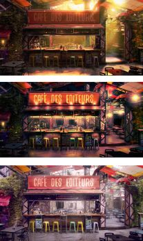 Hipster bar by unisaul