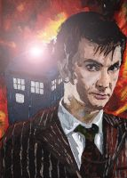 10th Doctor by neilpalf