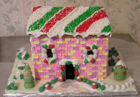 2010 Gingerbread house by celacia