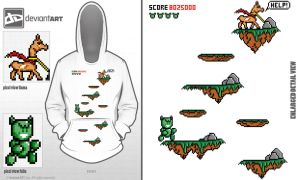 pixel shirt design 2 by reyjdesigns