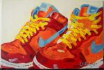 nike shoes by vronki