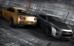 gtr small advance by 3DEricDesign