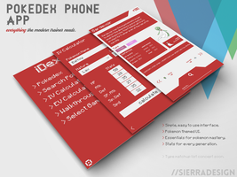 iDex Pokedex Concept by SierraDesign